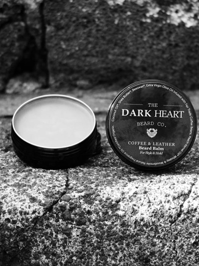 Coffee & Leather Beard Balm