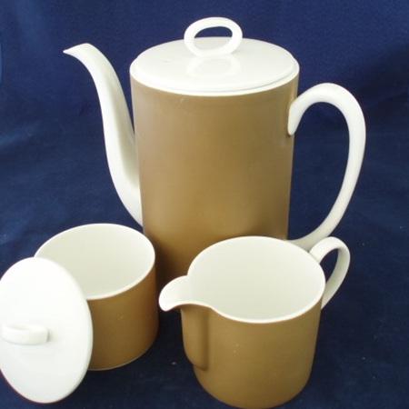 Coffee Pot Cream and Sugar Susie Cooper