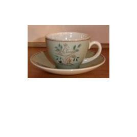Coffee set in leaping deer pattern Poole