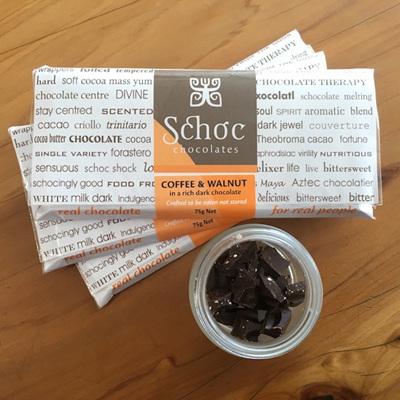 Coffee & Walnut dark chocolate
