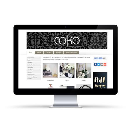 Coko Design - Online Shop