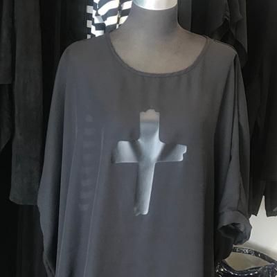 COKO SOUL TOP /DRESS BLACK