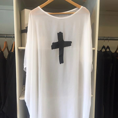 COKO SOUL TOP IN WHITE