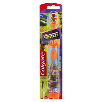 Colgate Kids Power Toothbrush Ninja Turtles