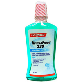 Colgate Neutrafluor 220 Alcohol Free 473ml Mouth Rinse