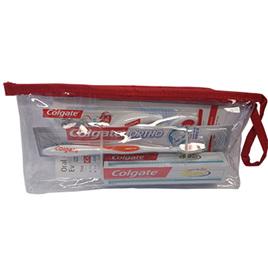 Colgate Orthodontic Regime Travel Bag with V-Trim Brush