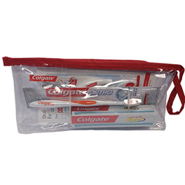 Colgate Orthodontic Regime Travel Bag with V-Trim Brush