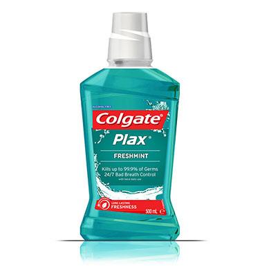 Colgate Plax Freshmint Alcohol Free 500ml