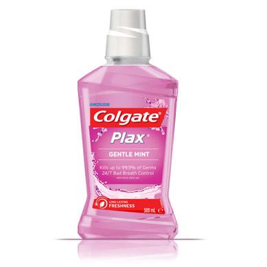 Colgate Plax Gentle Mint Alcohol Free 500ml