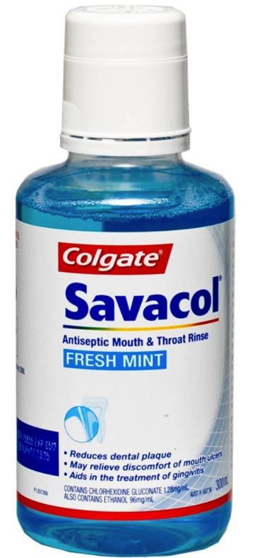 COLGATE SAVACOL FRESH MINT 300ML