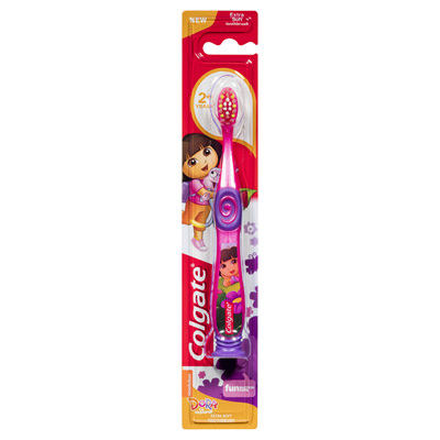 Colgate Smiles 2-5 years  Toothbrush - Dora