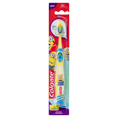 Colgate Smiles 6+ years  Toothbrush Minions