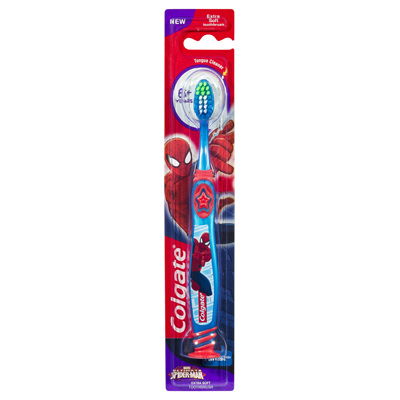 Colgate Smiles Youth Toothbrush Spiderman