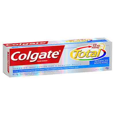 Colgate Total Advanced Plus Whitening Toothpaste 110g