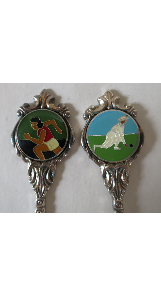 Collectable spoons sports
