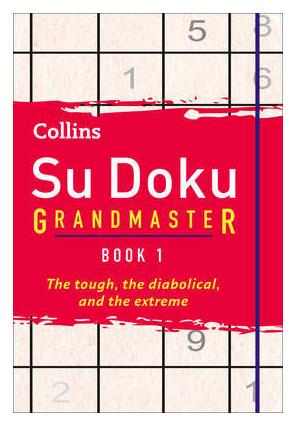 Collins Su Doku Grandmaster Book 1