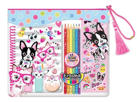 Color Me Notebook Set Pets