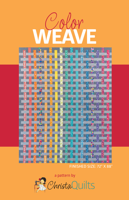 Color Weave by Christa Quilts