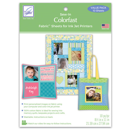 Colorfast Fabric Sheet