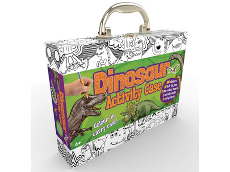 Colour and Carry Activity Kit Dinosaur