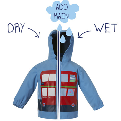 Colour Changing Boys Bus Jacket