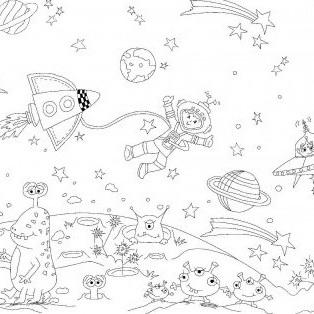 Colour Me - Space Adventures