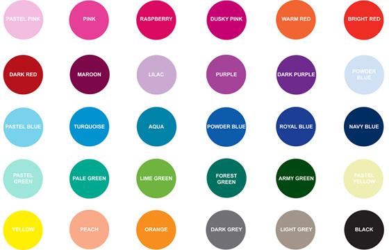 Colour Palette - Lottie Coco