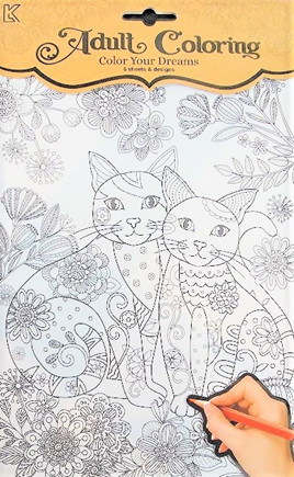 Colour Your Dreams: Cats