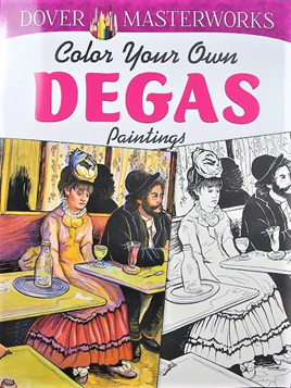 Colour your Own: Degas Paintings