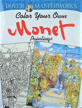 Colour your Own: Monet Paintings