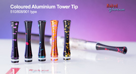 Coloured Aluminium Tower Tip