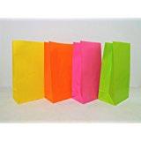Coloured paper bag x 10