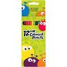 12 Fun Coloured Pencils