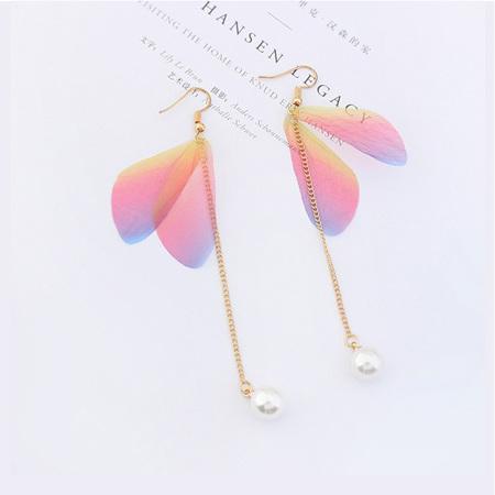Colourful Flutter  Dangle Earrings