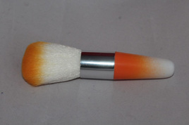 Colourful Kabuki Styled Brush *Orange*