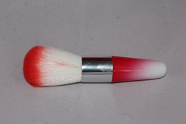 Colourful Kabuki Styled Brush *RED*