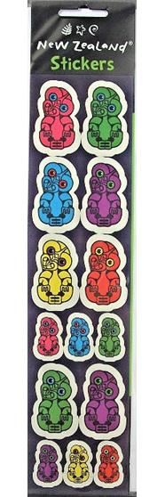 Colourful Tiki Stickers