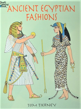 Colouring Book - Ancient Egyptian Fashions