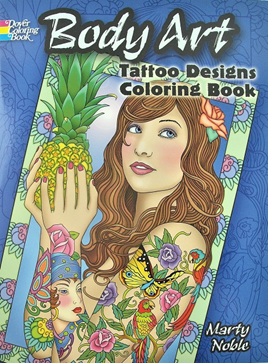 Colouring Book - Body Art Tattoo Designs