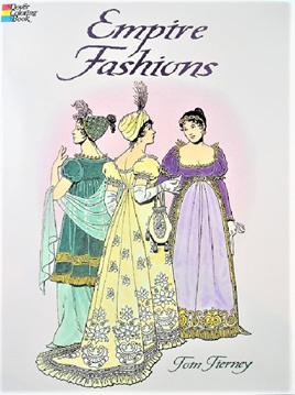 Colouring Book - Empire Fashions (France)