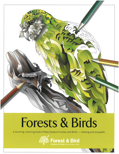 Colouring Book - Forests & Birds