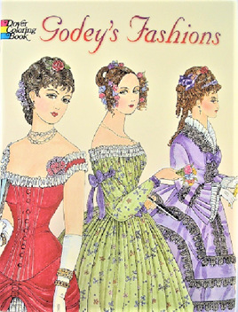 Colouring Book - Godey's Fashions