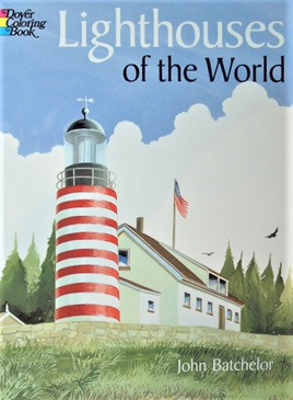 Colouring Book - Lighthouses of the World