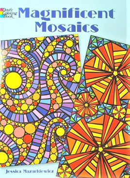 Colouring Book - Magnificent Mosaics