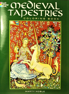 Colouring Book - Medieval Tapestries