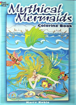 Colouring Book - Mythical Mermaids