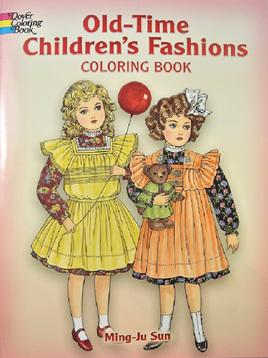 Colouring Book - Old-Time Children's Fashion