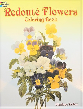 Colouring Book - Redouté Flowers