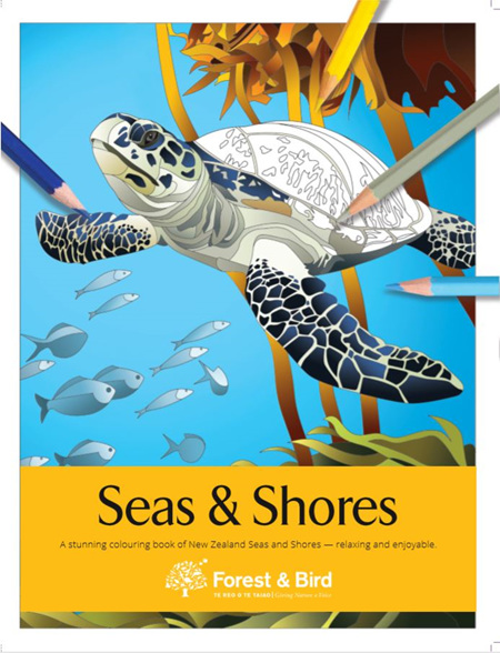 Colouring Book - Seas & Shores