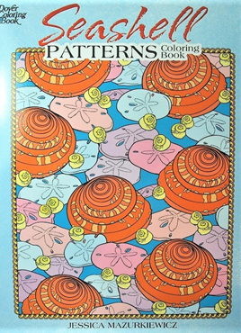 Colouring Book - Seashell Patterns